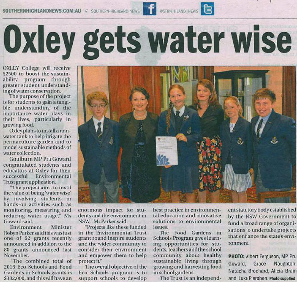 Oxley-Gets-Waterwise