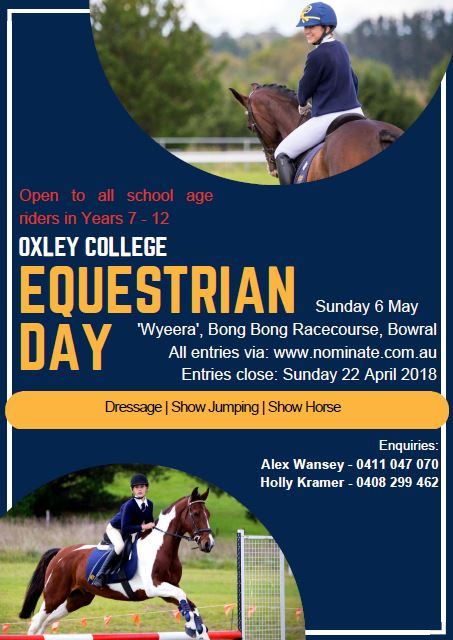Equestrian Oxley College